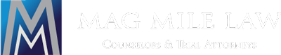 Mag Mile Law Logo